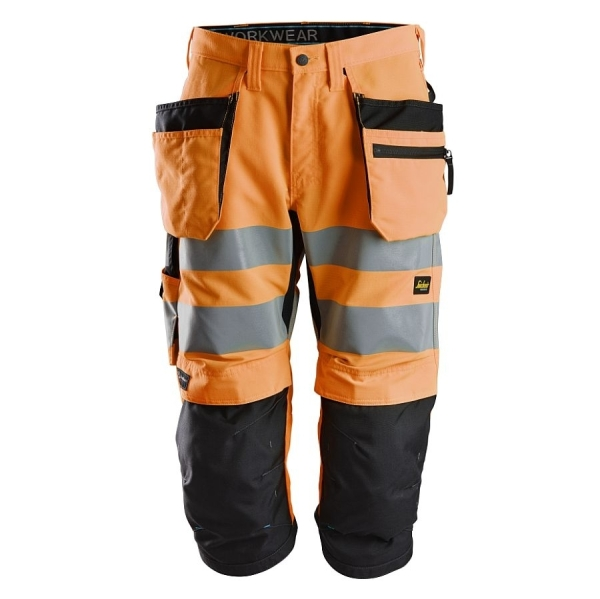 6134 Snickers LiteWork High-Vis Piratenhosen
