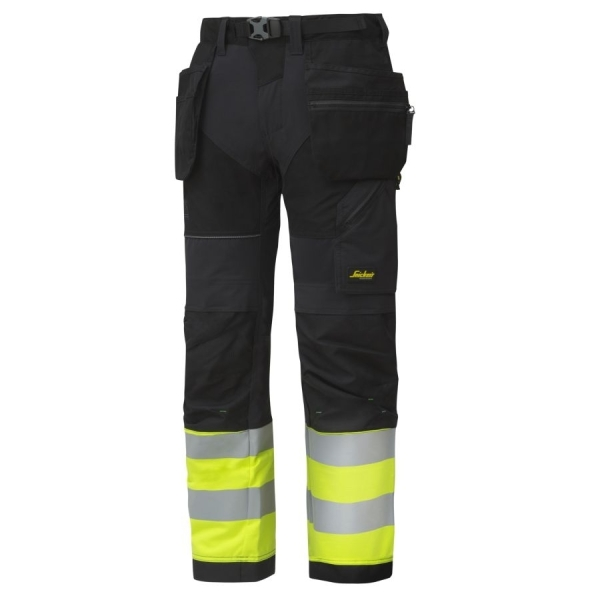 6931 Snickers FlexiWork High-Vis Bundhose
