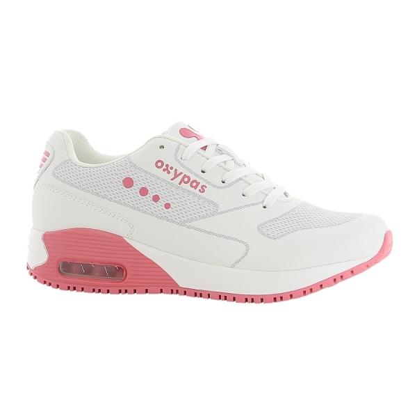 OXYPAS Sneaker Ela fuchsia EN 20347 SRC ESD