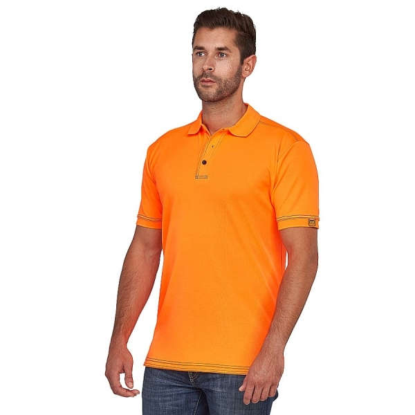 MWW400005 Macseis® Signature Poloshirt orange/navy