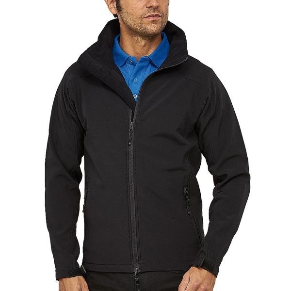 MS19001 Macseis® Trek Softshell Jacke schwarz