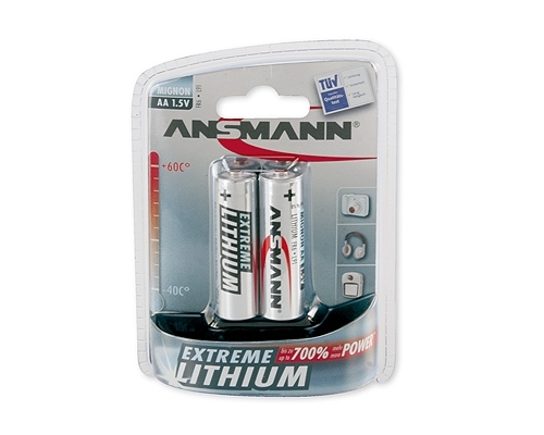 MIGNON AA Batterie Lithium-Extreme 2er-Blister