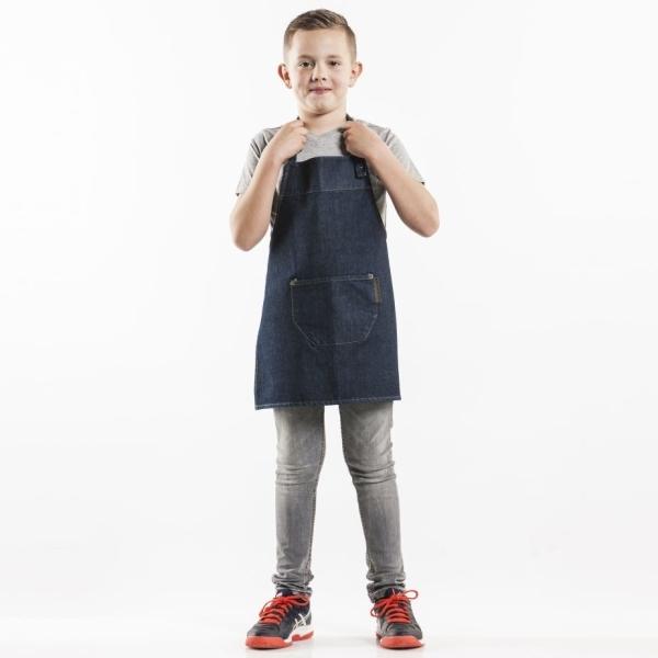 549 Chaud Devant® Latzschürze Kids Blue Denim