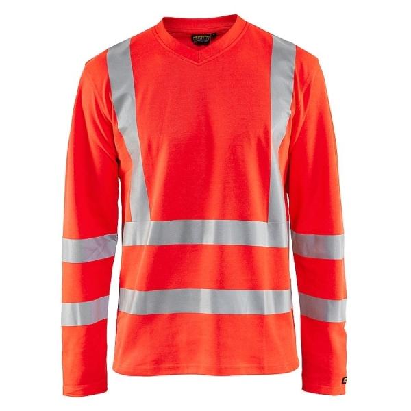 8948 Blakläder® Langarm-Shirt Warnschutz