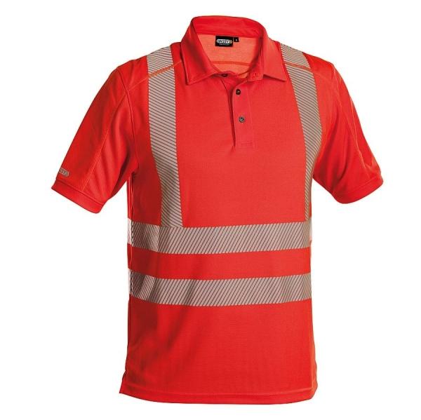 DASSY® Poloshirt Brandon Warnschutz