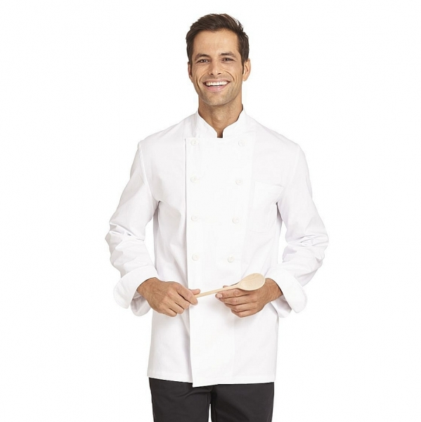 12/6050 Leiber Kochjacke 100% Baumwolle