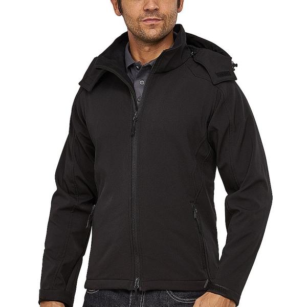 MS27001 Macseis® Trek Softshell Jacke schwarz
