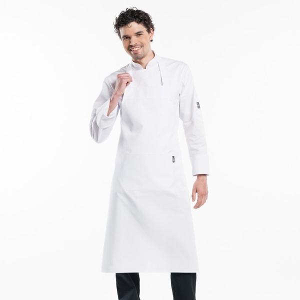 535 Chaud Devant® Latzschürze White