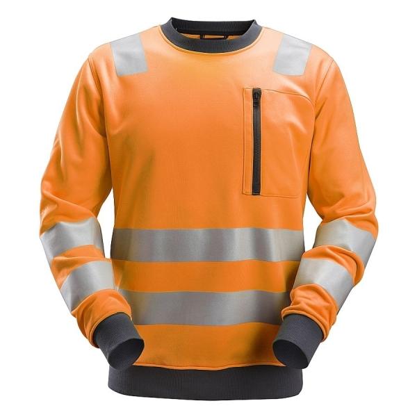 8037 Snickers Allroundwork Hi-Vis Sweatshirt