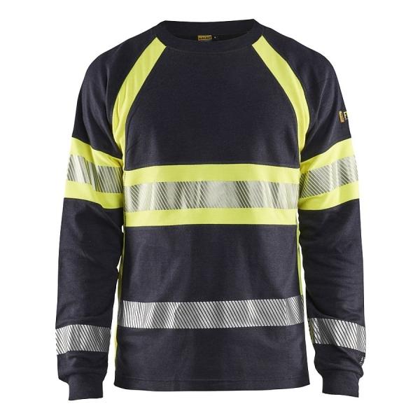3484 Blakläder® Flammschutz Langarm Shirt