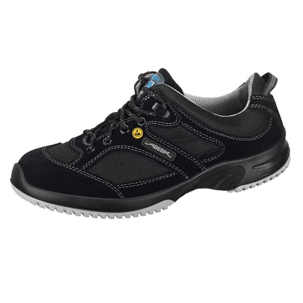 Abeba® uni6 Sicherheitsschuh ESD 31721 S1 schwarz