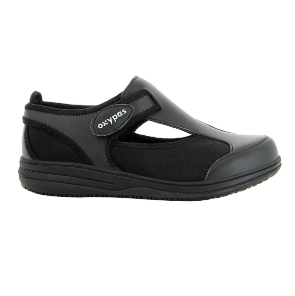 OXYPAS Sandale Candy schwarz EN 20347 SRC ESD