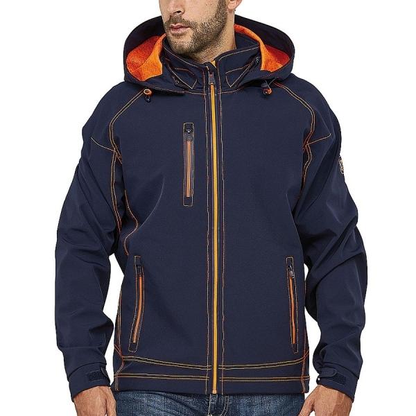 MS300005 Macseis® Twotone Softshell Jacke navy