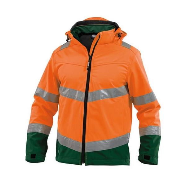 DASSY® Warnschutz Softshell Jacke Malaga