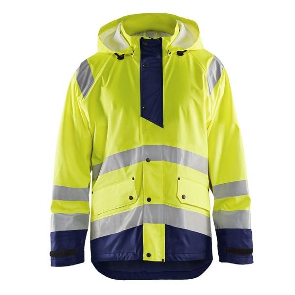 4323 Blakläder® Regenjacke Warnschutz