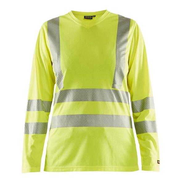3485 Blakläder® Damen Shirt High-Vis mit UV Schutz