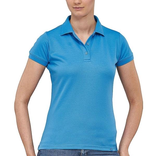 MS4005 Macseis® Flash Damen Poloshirt hellblau