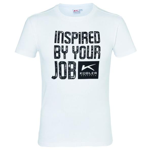 5127 Kübler Print T-Shirt 100% Baumwolle