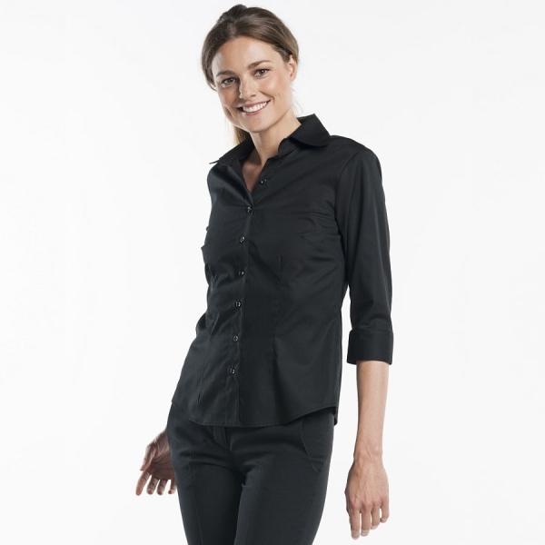 611 Chaud Devant® Service Bluse Lady Black
