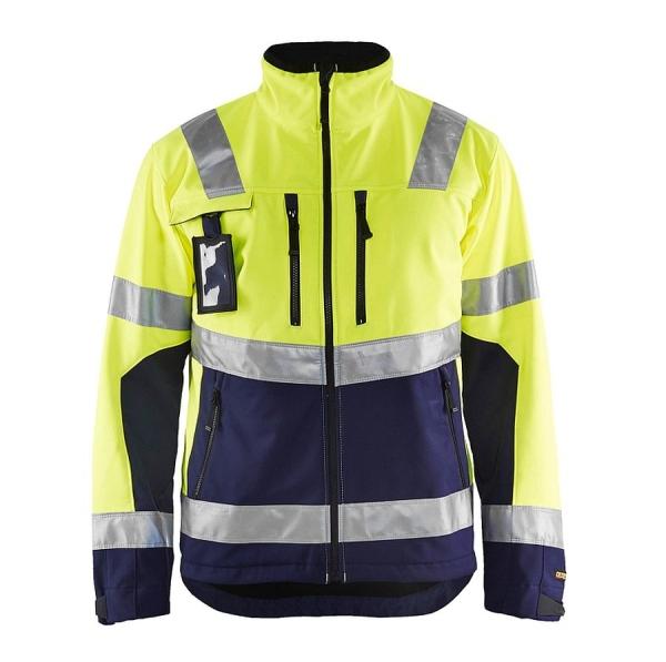 4900 Blakläder® Softshell Jacke Warnschutz