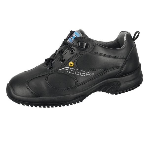 Abeba® uni6 Sicherheitsschuh ESD 31751 S2 schwarz