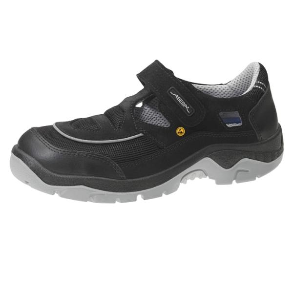 Abeba® ESD Sicherheits-Sandale 32189 S1 schwarz