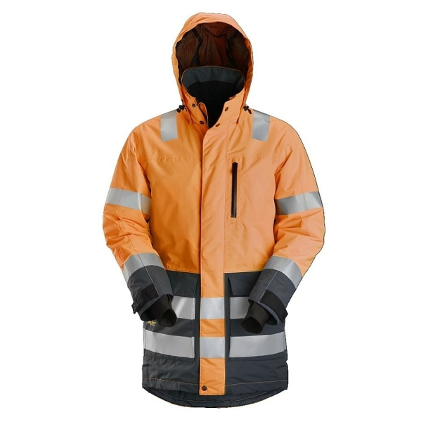 1830 Snickers AllroundWork Parka High-Vis