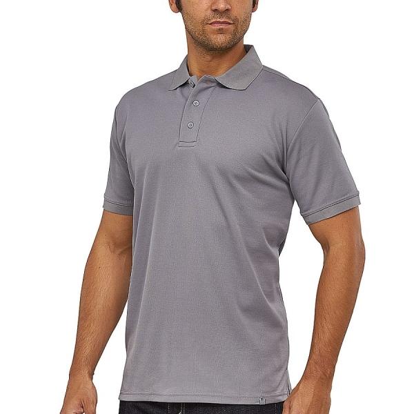 MS3006 Macseis® Flash Poloshirt steingrau