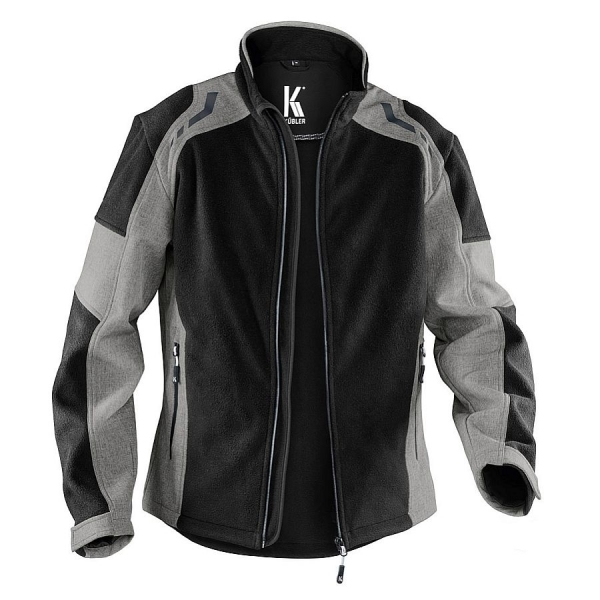 1767 Kübler Fleece-Softshelljacke