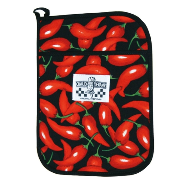 704 Chaud Devant® Topflappen Chili Pepper