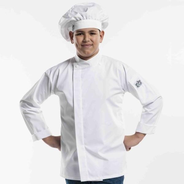 928 Chaud Devant® Kochjacke Teen White