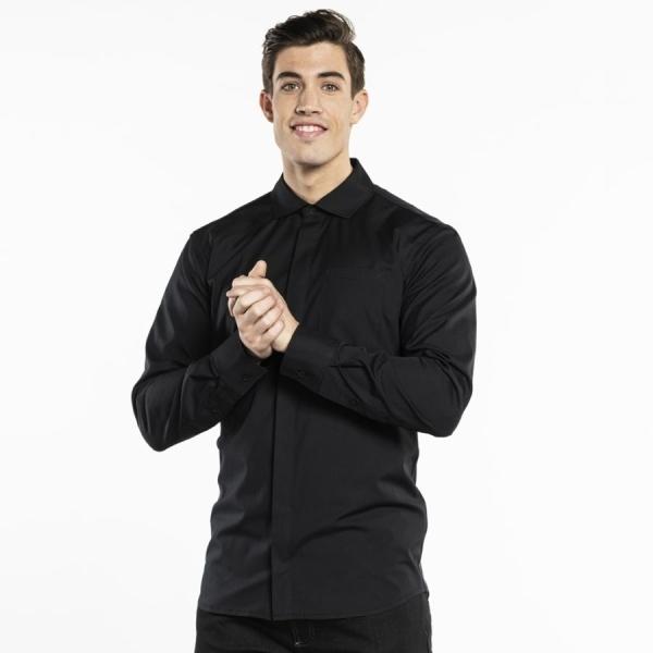 609 Chaud Devant® Service Hemd UFX Black