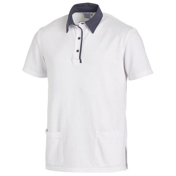 08/2743 Leiber Unisex Poloshirt Mischgewebe