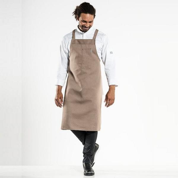 553 Chaud Devant® Latzschürze Nordic Clay