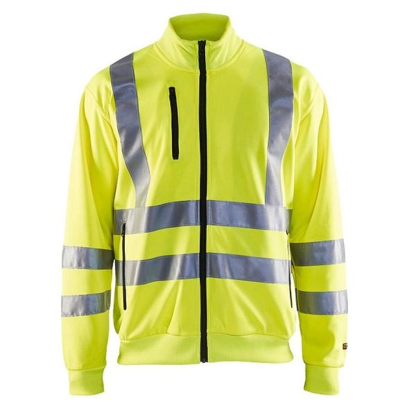 3358 Blakläder® Sweatjacke Warnschutz