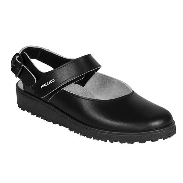 17800 AWC Sandale schwarz