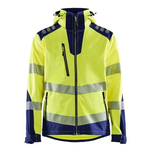 4491 Blakläder® High-Vis Softshell Jacke
