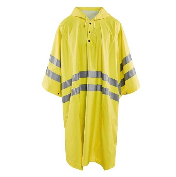 4308 Blakläder® Regen Poncho Warnschutz