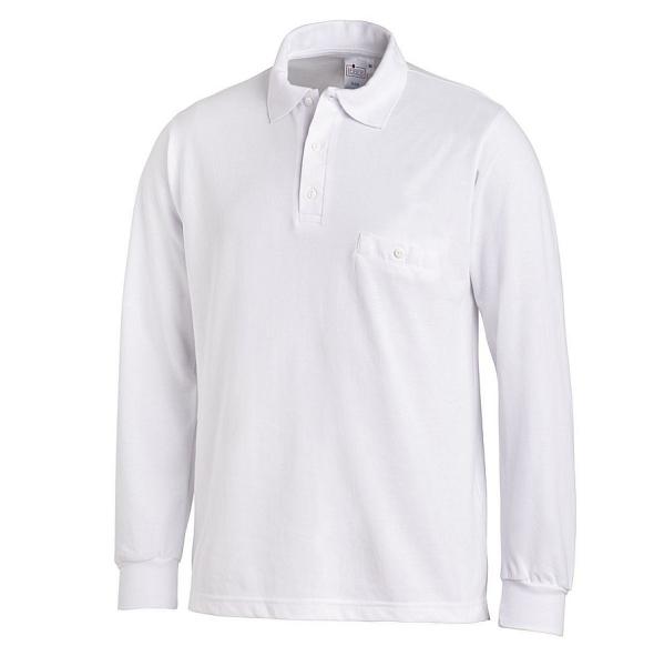 08/841 Leiber Unisex Poloshirt langarm Mischgewebe