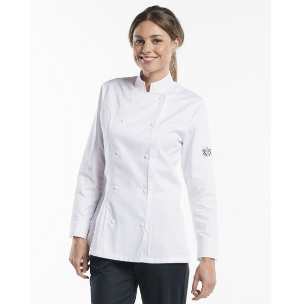 210 Chaud Devant® Kochjacke Lady Comfort White
