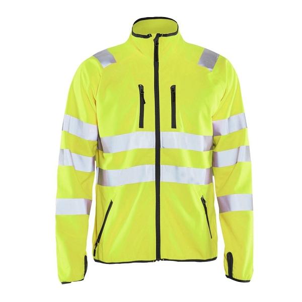 4906 Blakläder® Softshell Jacke Warnschutz