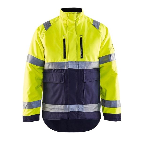 4827 Blakläder® High Vis Winterjacke Warnschutz