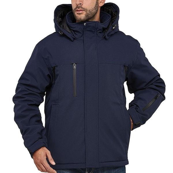 MS12002 Macseis® Nero Winter Softshell Jacke
