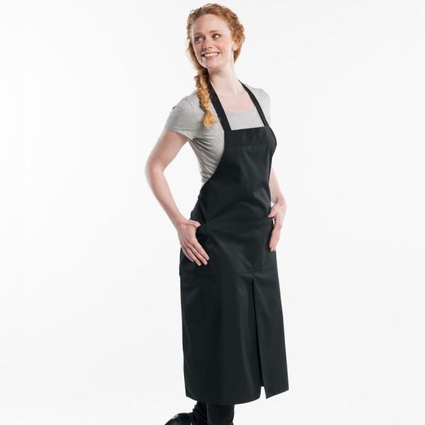 578 Chaud Devant® Latzschürze 4-Pockets Black