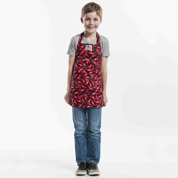 554 Chaud Devant® Latzschürze Kids Chili Pepper