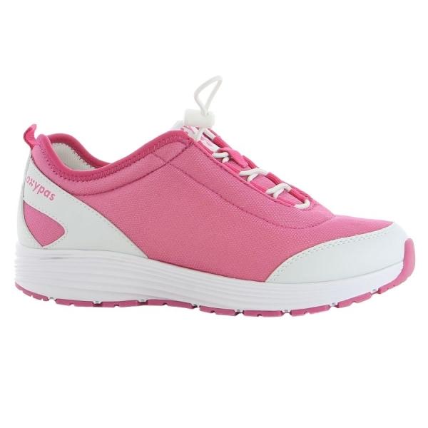 OXYPAS Sneaker Maud fuchsia EN 20347 SRA
