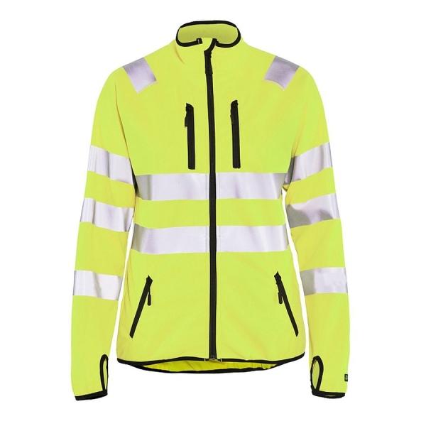 4926 Blakläder® Damen Softshell Jacke Warnschutz