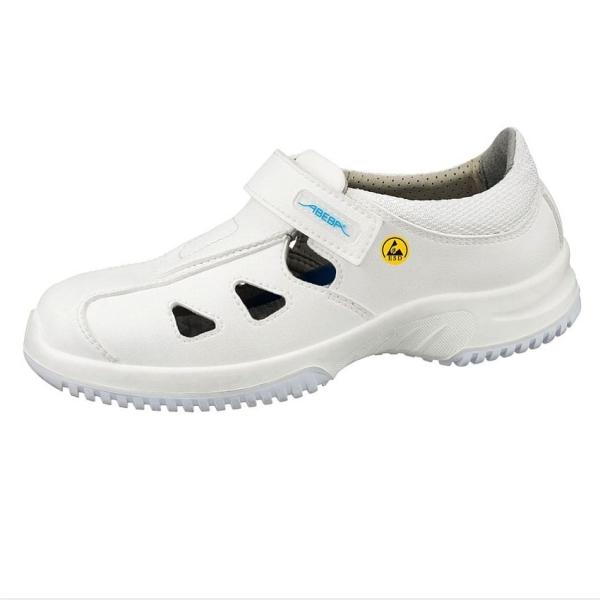 Abeba® uni6 Sandale ESD 36795 O1 weiss