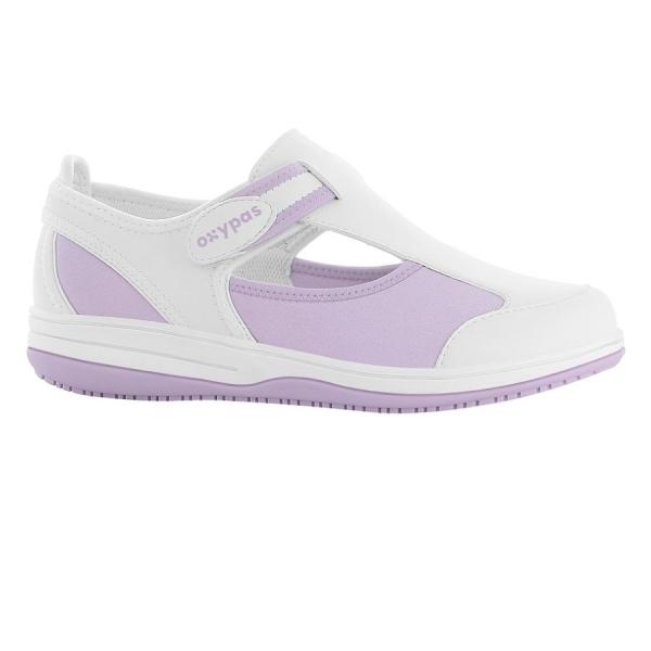 OXYPAS Sandale Candy violett EN 20347 SRC ESD