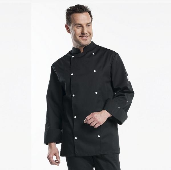 203 Chaud Devant® Kochjacke Firenze schwarz